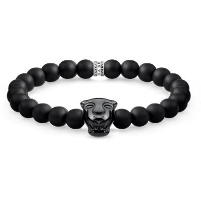 Mens Thomas Sabo Rebel at Heart Bracelet A1777-916-11-L19