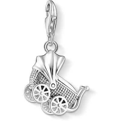 Ladies Thomas Sabo Sterling Silver Charm Club Buggy Charm 1693-637-21