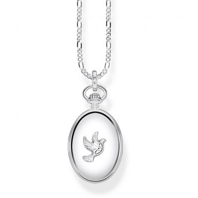 Joyería para Mujer Thomas Sabo Jewellery Glam & Soul Dove Locket Necklace KE0040-356-14-L45v