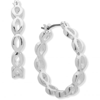 Biżuteria Anne Klein Jewellery Oval Hoop Earrings 60499245-887