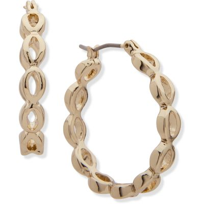 Biżuteria Anne Klein Jewellery Oval Hoop Earrings 60499246-G03