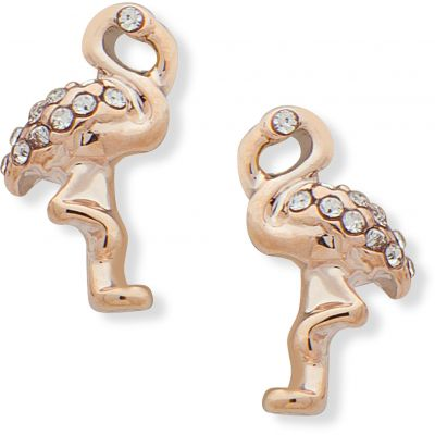 Anne Klein Jewellery Flamingo Stud Earrings