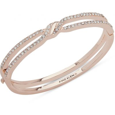 Anne Klein Jewellery Pave Bangle
