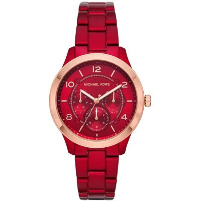 Michael Kors Damenuhr in Rot MK6594