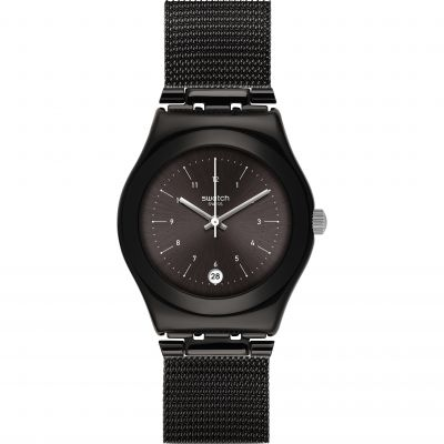 Swatch Irony Medium Neronero Unisexuhr YLB403M