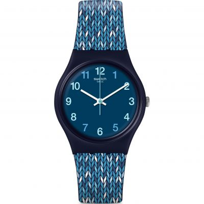 Swatch Tricoblue Watch GN259