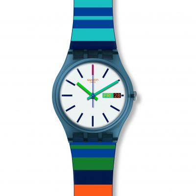 Swatch Original Gent Color Crossing Unisexuhr GN724