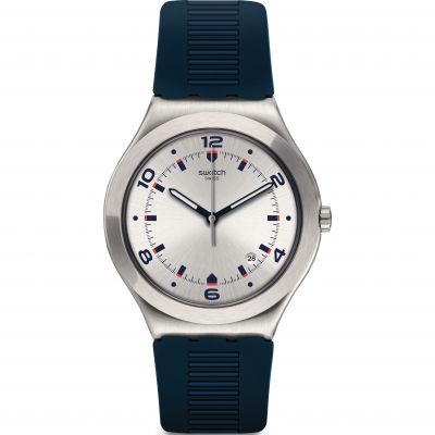 Swatch Irony Big Classic Brut De Bleu Herrenuhr YWS431