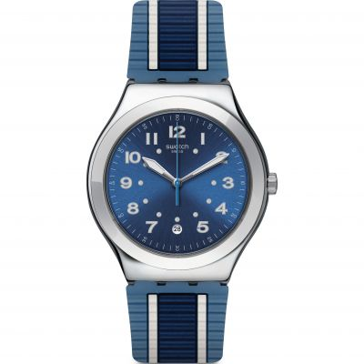 Swatch Irony Big Classic Bluora Herrenuhr YWS436