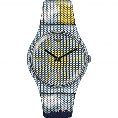 Swatch Originals New Gent Tricovni Unisexuhr SUOB151