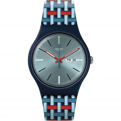 Swatch Wovering horloge SUON710
