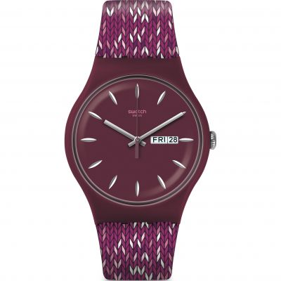 Swatch Originals New Gent Tricopurp Unisexuhr SUOV705