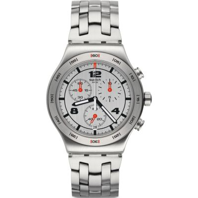Montre Homme Swatch Silver Again YVS447G