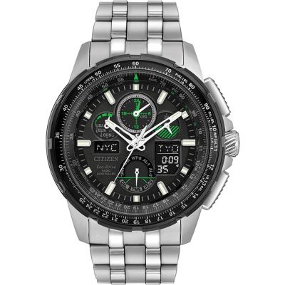 Citizen Herrenchronograph in Silber JY8051-59E