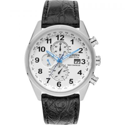 Citizen Herrenchronograph in Schwarz AT8038-08A