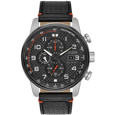 Citizen Herrenchronograph in Schwarz CA0681-03E