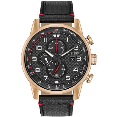 Citizen Herrenchronograph in Schwarz CA0683-08E