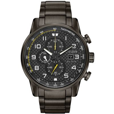 Citizen Herrenchronograph in Schwarz CA0687-58E