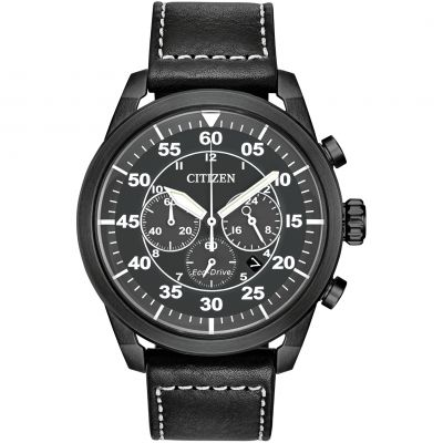 Citizen Herrenchronograph in Schwarz CA4215-21H