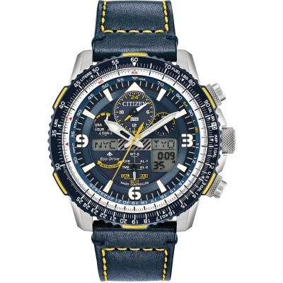 Citizen Herrenchronograph in Blau JY8078-01L