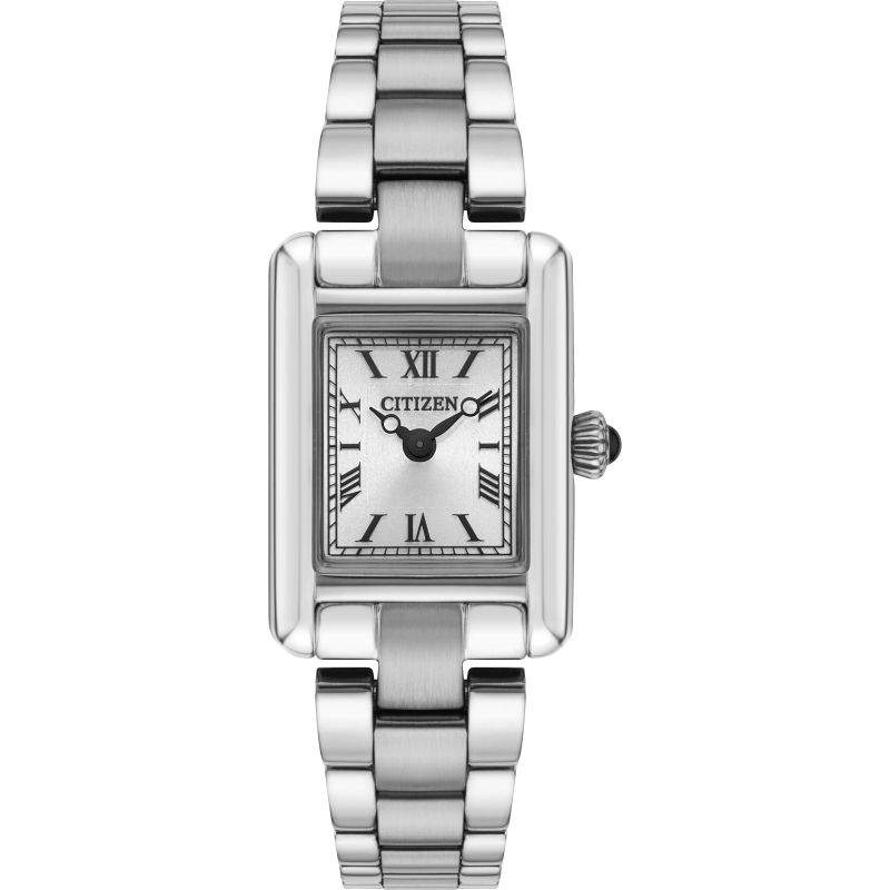 Ladies Citizen Eco-drive Silhouette Stainless Steel Watch EG2790-55B