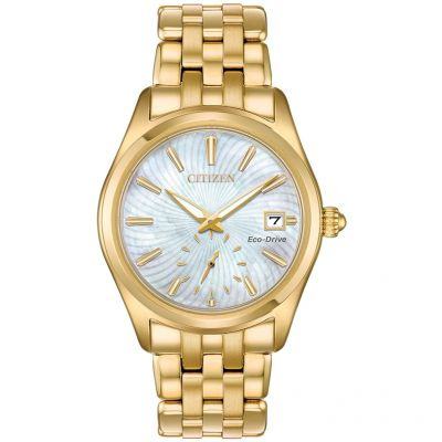 Citizen Damenuhr in Gold EV1032-51D