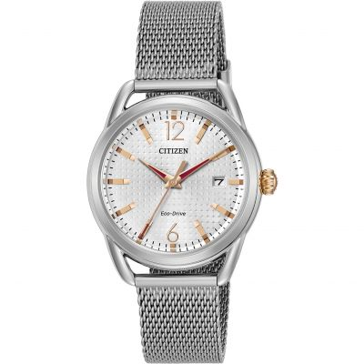 Citizen Damenuhr in Silber FE6081-51A