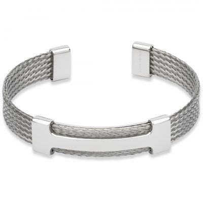 Mens Unique & Co Stainless Steel Bracelet QB-92