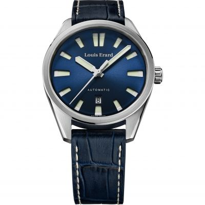 Louis Erard Herrenuhr in Blau 69108AA05