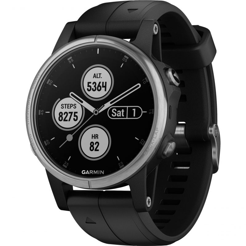 Garmin fenix 5s Plus Multisport GPS Watch 010-01987-21