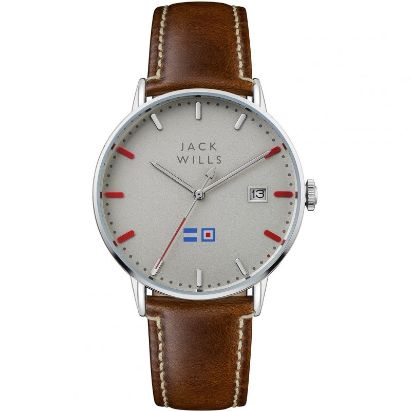 Mens Jack Wills Batson Watch JW002BRSS