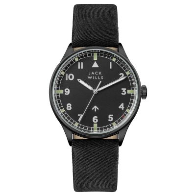 Mens Jack Wills Camperdown Watch JW001BKBK