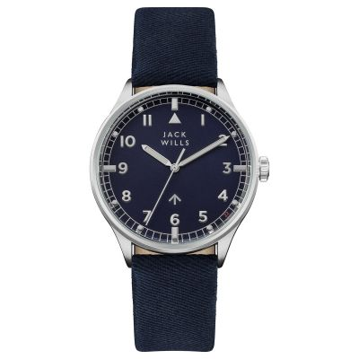 Jack Wills Camperdown Herrklocka Navy JW001BLSS
