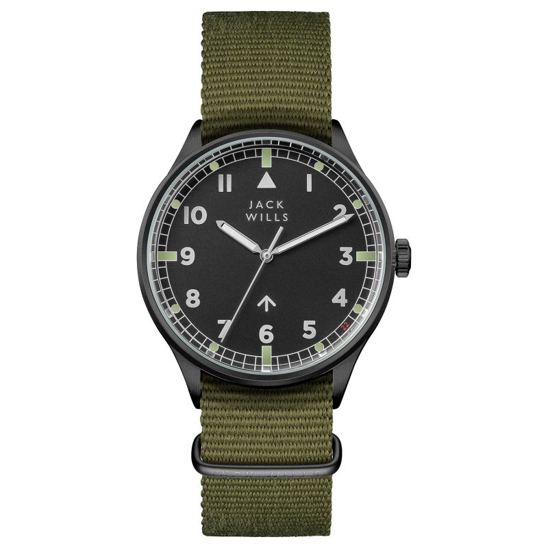 Mens Jack Wills Camperdown Watch JW001GRBK