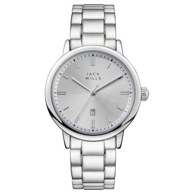 Jack Wills Raleigh Dameshorloge Stainless Steel JW010SSSS