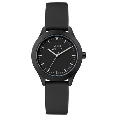 Jack Wills Union Union Damenuhr in Schwarz JW008BKBK