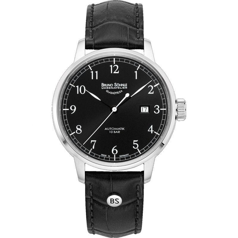 Mens Bruno Sohnle Hamburg Auto Big Automatic Watch