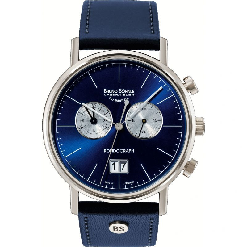Mens Bruno Sohnle Rondo Rondograph Watch