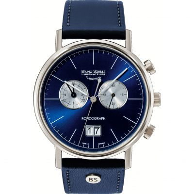 Mens Bruno Sohnle Rondo Rondograph Watch 17-13135-343