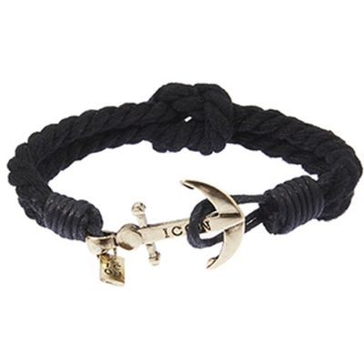 Icon Brand Captain Flint Armband LE1113-BR-GBLK