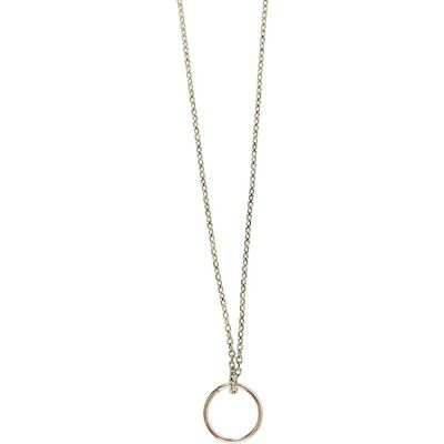 Icon Brand Shape Up Necklace P1676-N-GLD