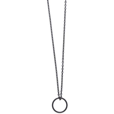 Icon Brand Shape Up Necklace P1676-N-BLK