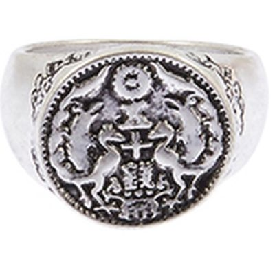 Icon Brand Ring Size M P1493-R-SIL-MED