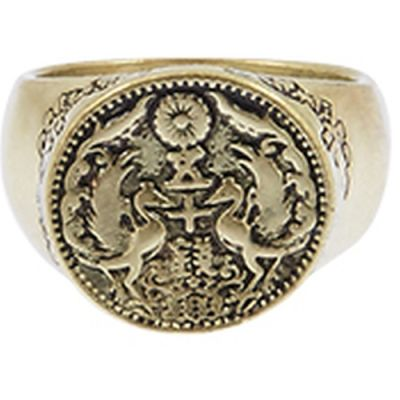 Icon Brand Ring Size L P1493-R-GLD-LGE