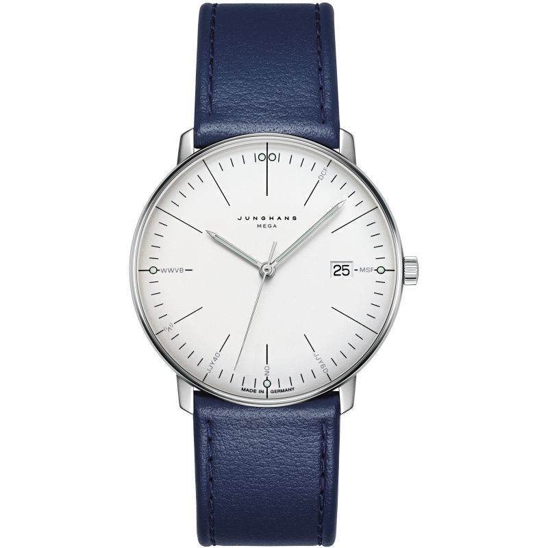 Junghans max bill Mega Radio Controlled Watch 058.4822.00