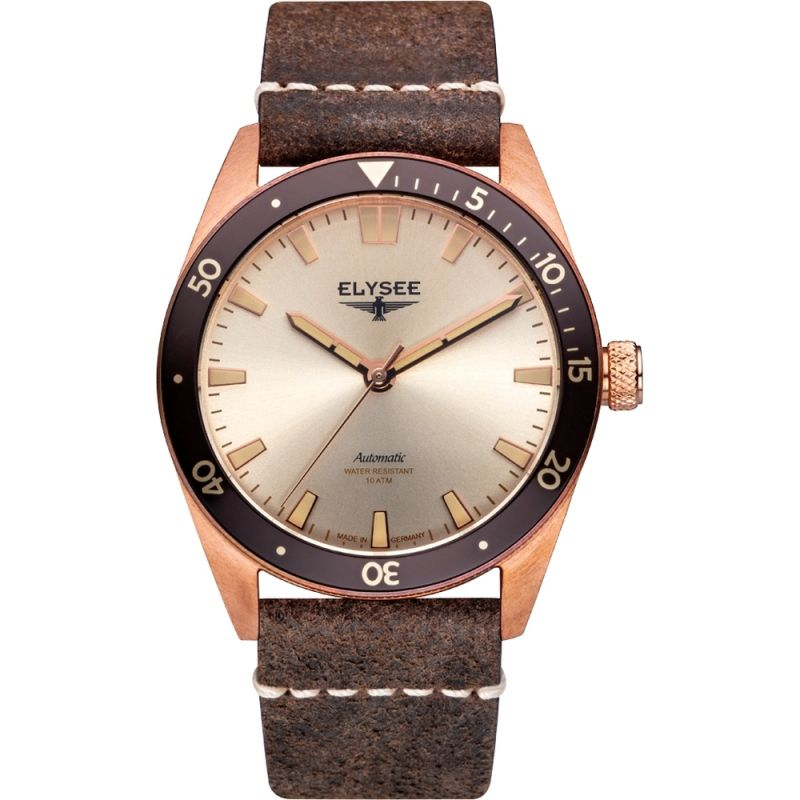 Elysee Bronze Watch