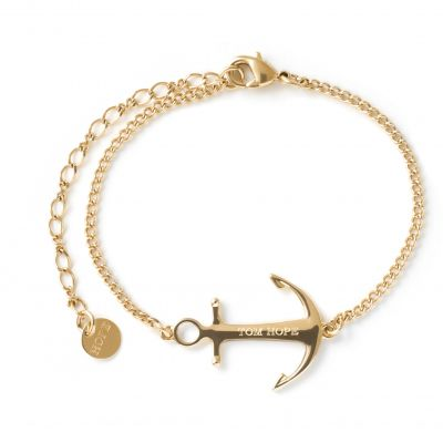 Tom Hope Saint Bracelet Guldpläterad TM0331
