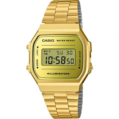 Casio Retro Mirror Dial Watch A168WEGM-9EF