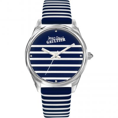 Jean Paul Gaultier Navy Navy Damenuhr in Blau JP8502414