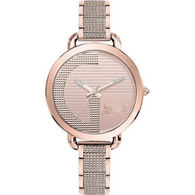 Jean Paul Gaultier Index G Dameshorloge Rose JP8504323